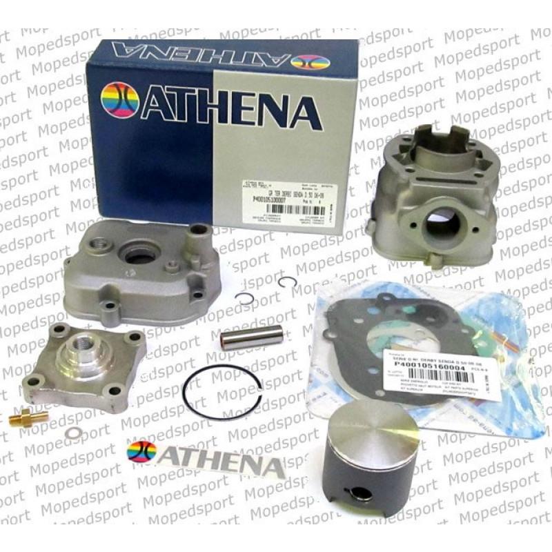 Cilinder met Zuiger en Kop 70cc 50mm Nieuw Model  2006-2009 Athena  P400105100007 met Piaggio motor