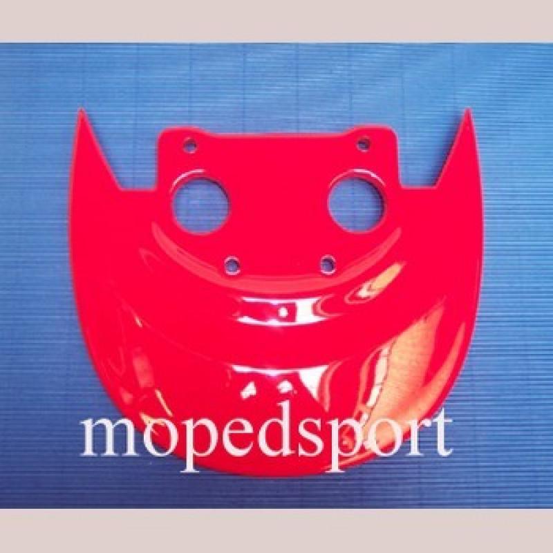 Framecover spoiler /zijscherm Malaguti F15 rood voor two tone