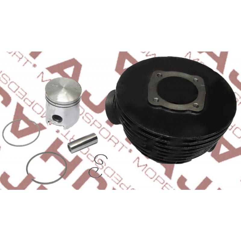 Cilinder en zuiger Sachs 3/4v 50/3 LFS 50/4 LKH 50/4 LF NL 41mm  70cc geforceerde koeling  gietijzer