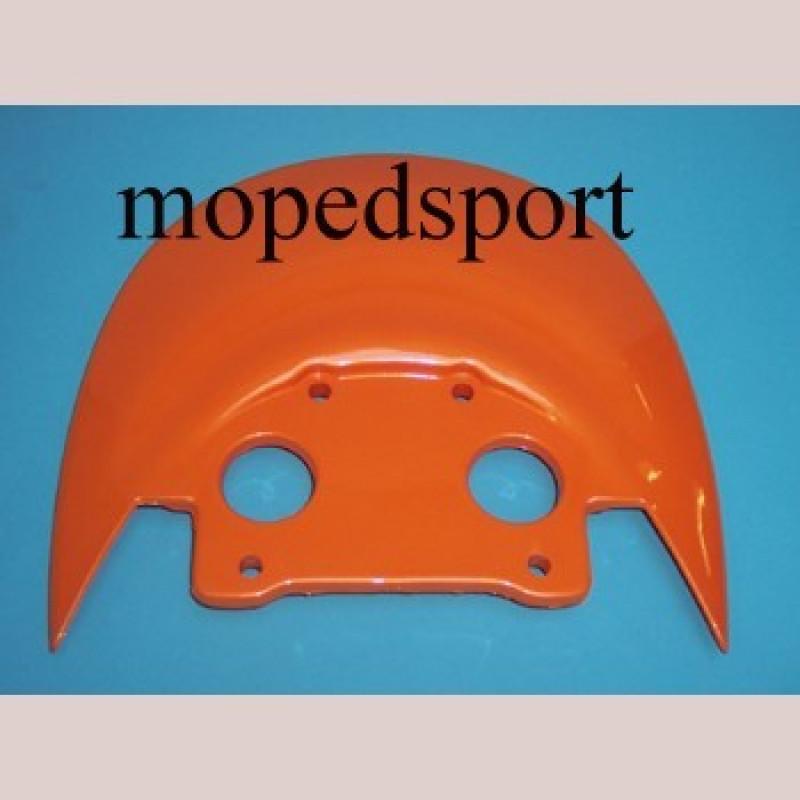 Framecover spoiler/zijscherm Malaguti F15 oranje voor two tone