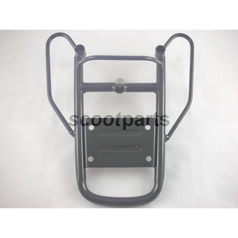 Achterdrager GY6 China Kymco Filly, Peugeot V-clic Zwart