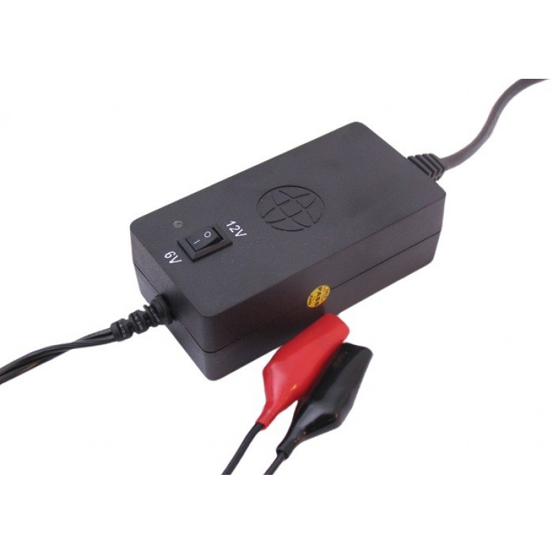 Acculader (druppel lader)  6V en 12V Edge