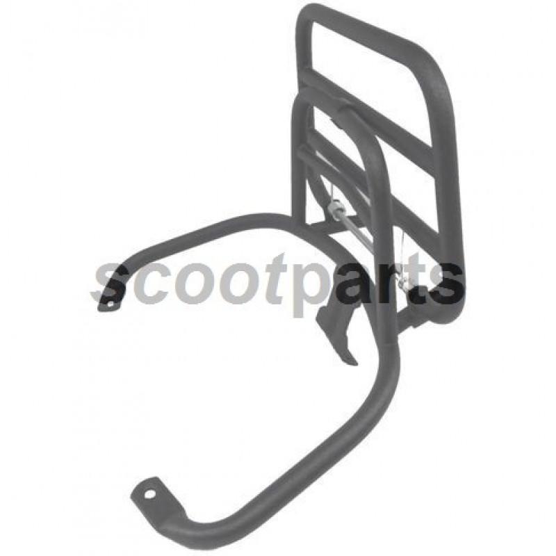 Achterdrager Vespa LX, S titanium opklapbaar