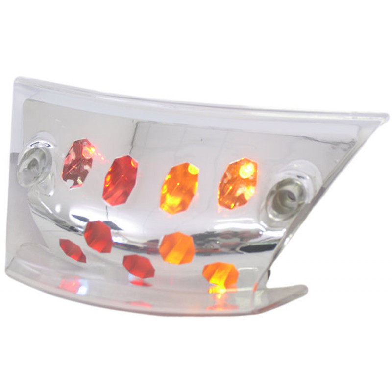 Achterlicht led met richtingaanwijzer Piaggio Zip SP met helder glas