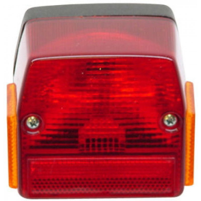 Achterlicht Puch Maxi nieuw model zonder steun met reflector