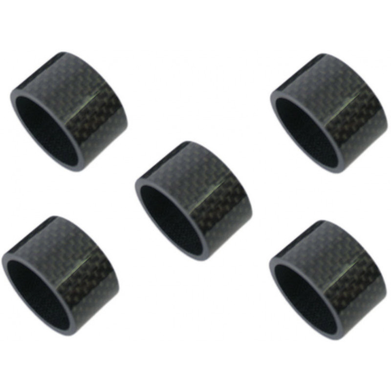 "Ahead Spacer set 1-1/8""-carbon  20mm"