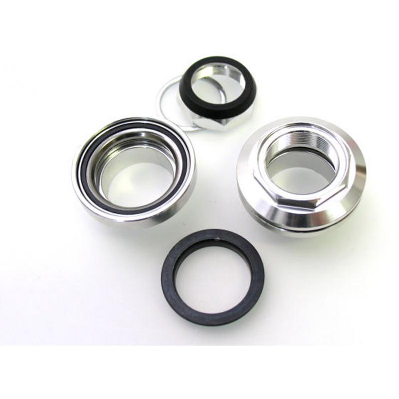 """Balhoofdset aluminium 9 delig 1"""" met industrielagers (zilver) Edge"""