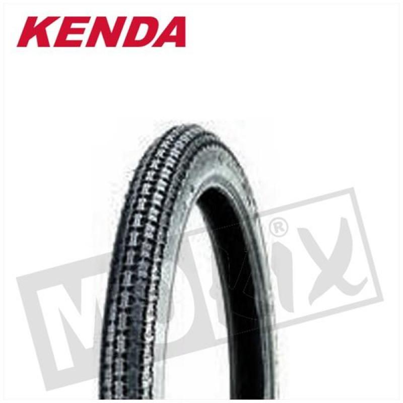 Buitenband  K252 19-225 K251A 2PR 28P TT Kenda (Bromfiets)