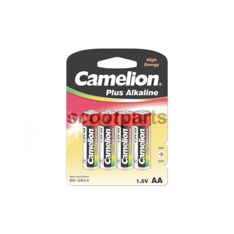 Batterij 1,5 Volt AA Camelion (4stk