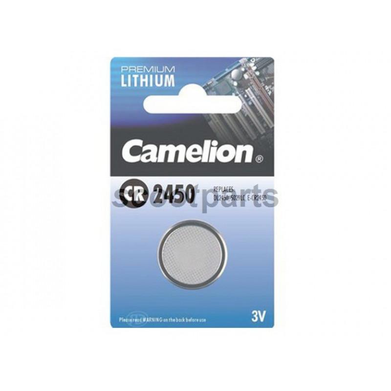 Batterij knoop plat CR 2450