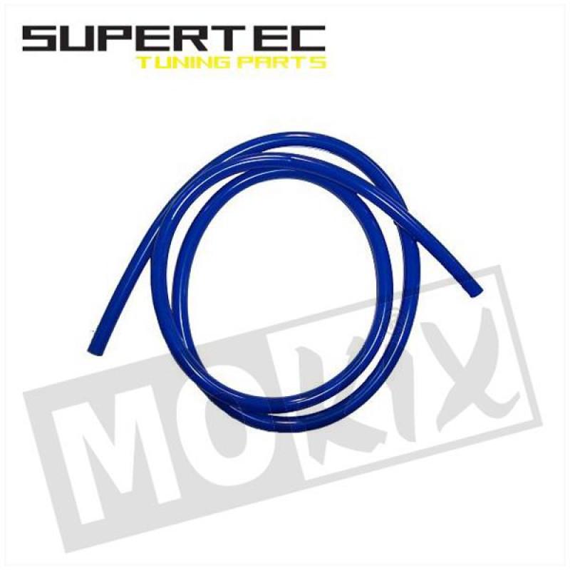 Benzineslang 5 x8 blauw 1 meter