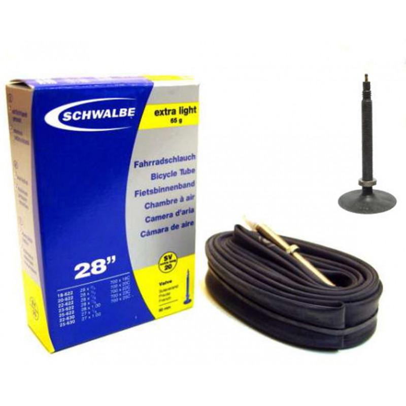 "Binnenband Schwalbe SV20 Extra Light 28"" / 18/25-622/630 - 80mm ventiel (Fiets)"