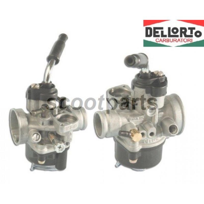Carburateur Piaggio 2 takt PHVA 17.5 ED dellorto