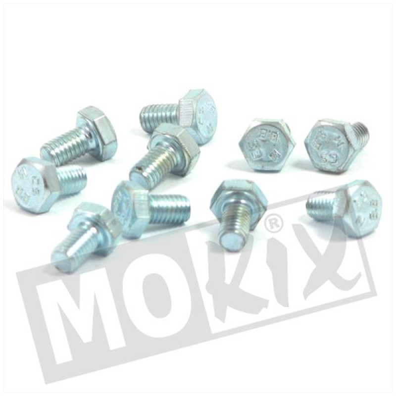 Carter bout Tomos A3, A35, Flexer, Luxe, Quadro, PackR M6x10 10st