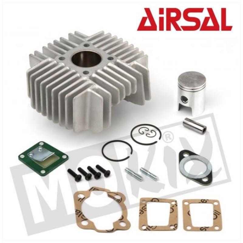 Cilinder Airsal Tomos A38B, A35, S25,Flexer, Funtastic, ClasSic 50cc