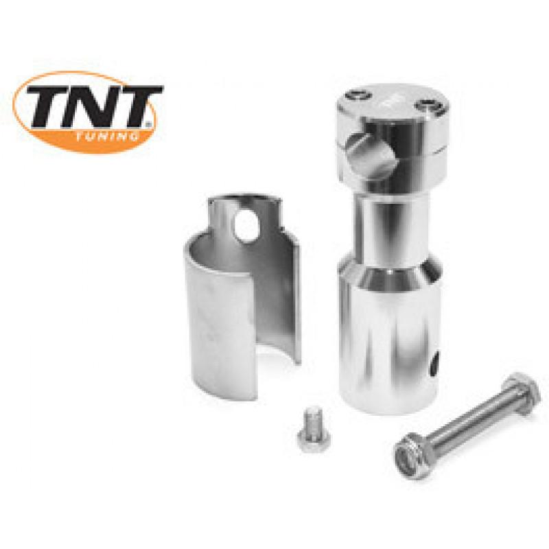 Stuurpen - clamp TNT Peugeot Ludix zilver