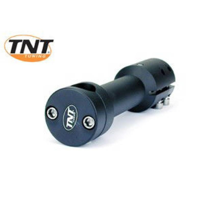 Stuurpen - clamp TNT Yamaha Aerox - MBK Nitro lang zwart