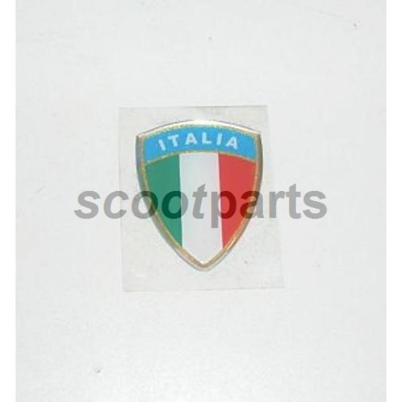 EMBLEEM ITALIA GROOT DIK