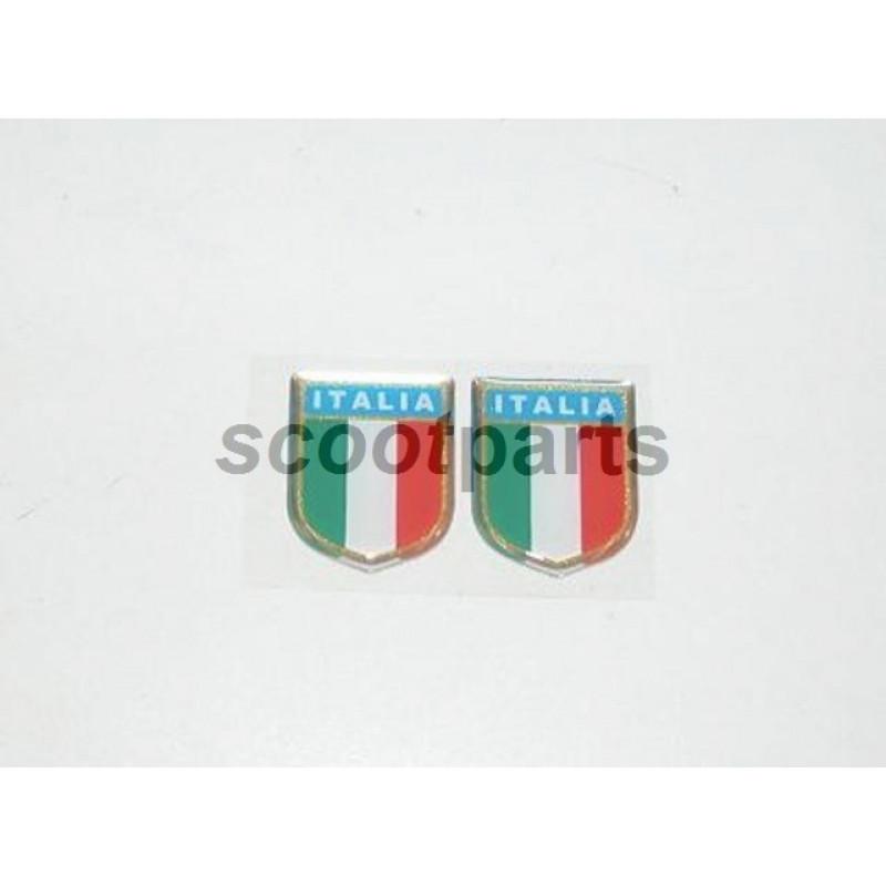 Embleem Italia klijn bik
