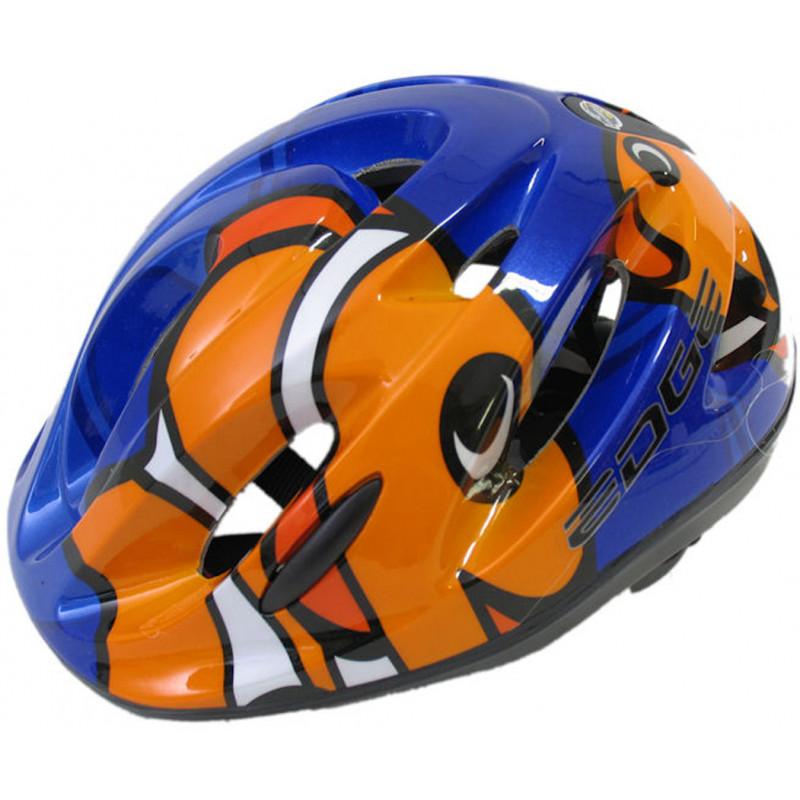 Fietshelm Edge C42 Kids Clownfish - blauw - 52-58cm