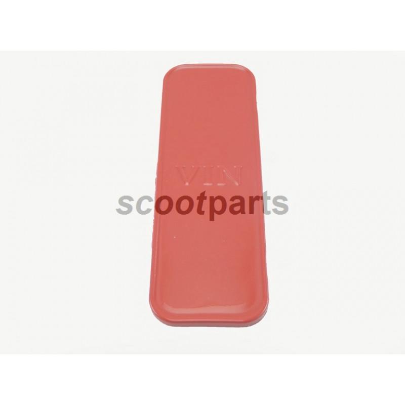 Framenummer kapje VX50 VX50s rood