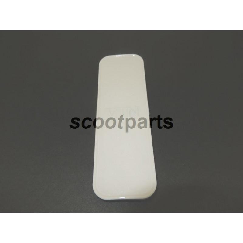 Framenummer kapje VX50 VX50s wit