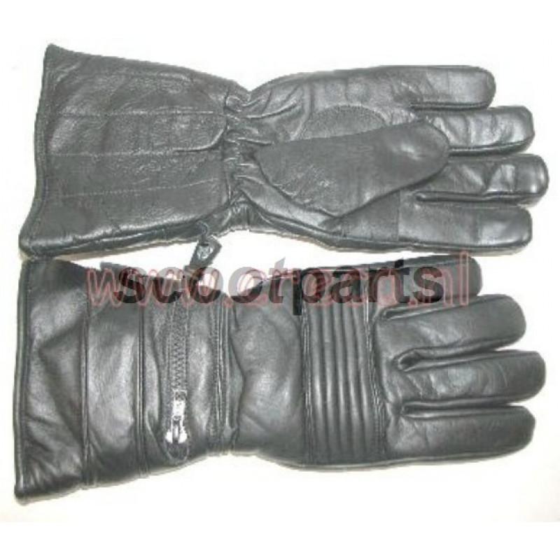 Handschoen leer zw Medium