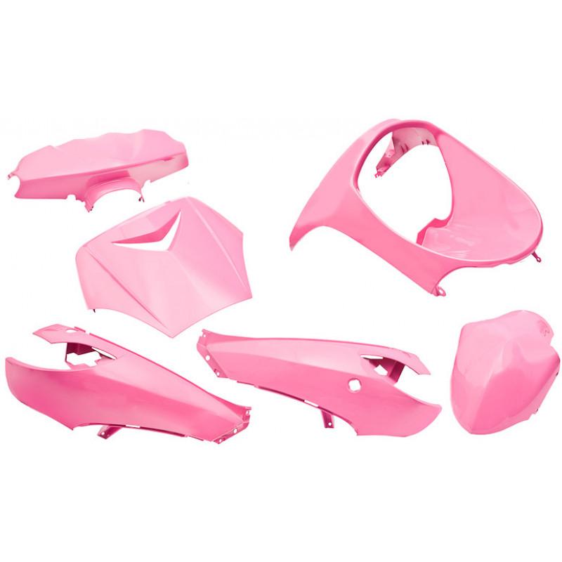 Kappenset - Plaatset Edge Peugeot Vivacity roze 6 delig