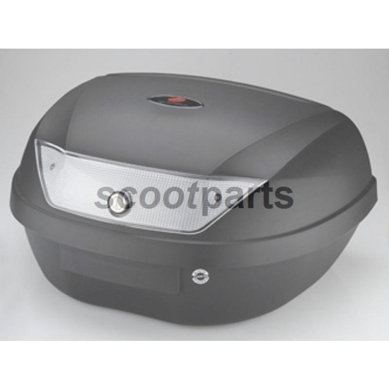 Topkoffer - bagagebox 51 liter zwart