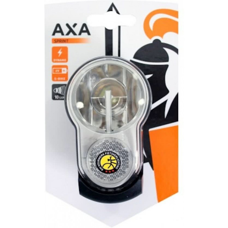 Koplamp AxA Sprint 10 dynamo / 6V accu