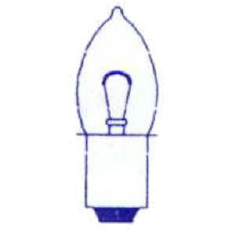 lamp 4.75V kraag PR13