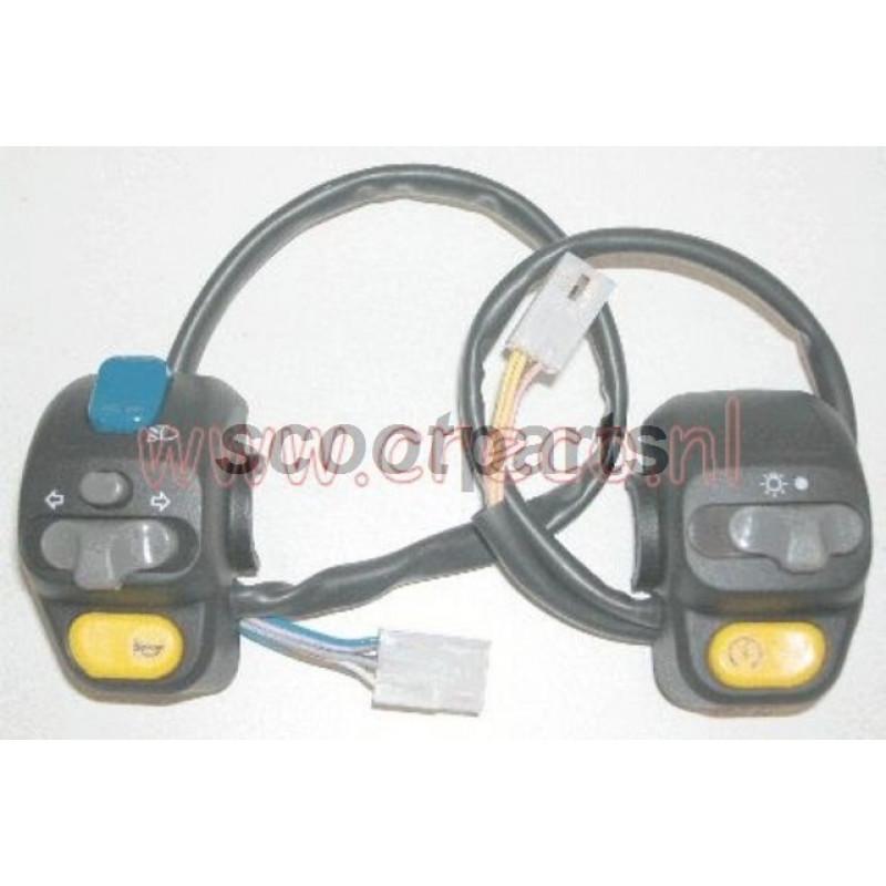 Lichtschakelaar LH Peugeot Speedfight, Vivacity, TKR