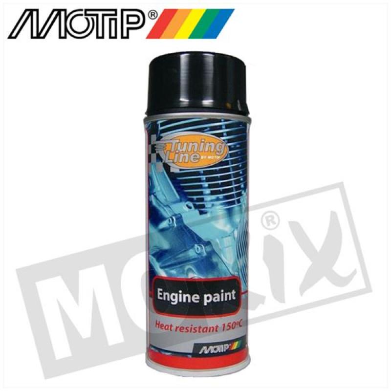 Motorblok spray Motip zwart
