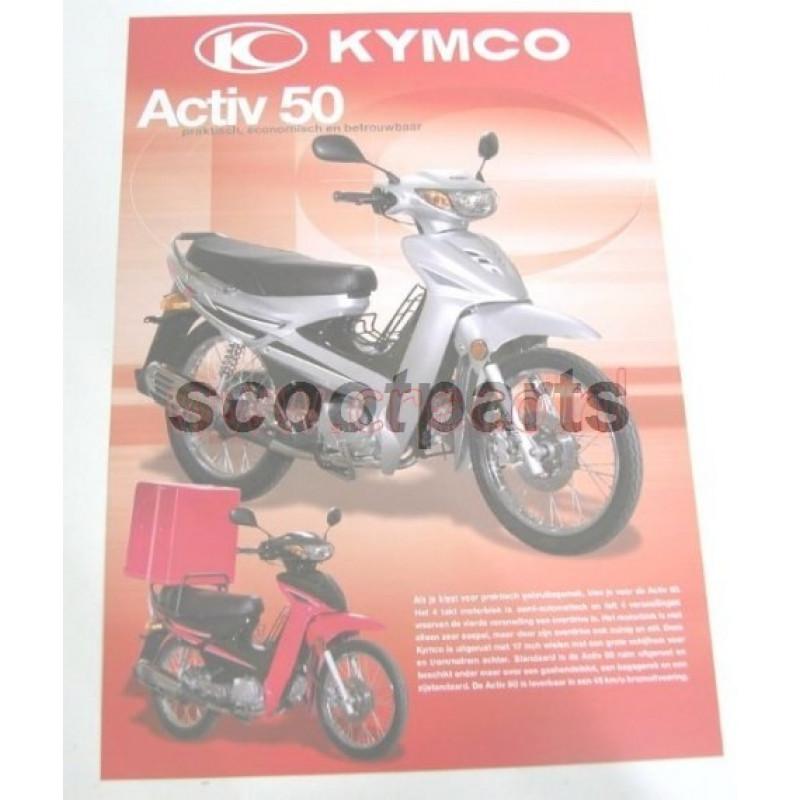 Prijslijst Kymco motorscooters