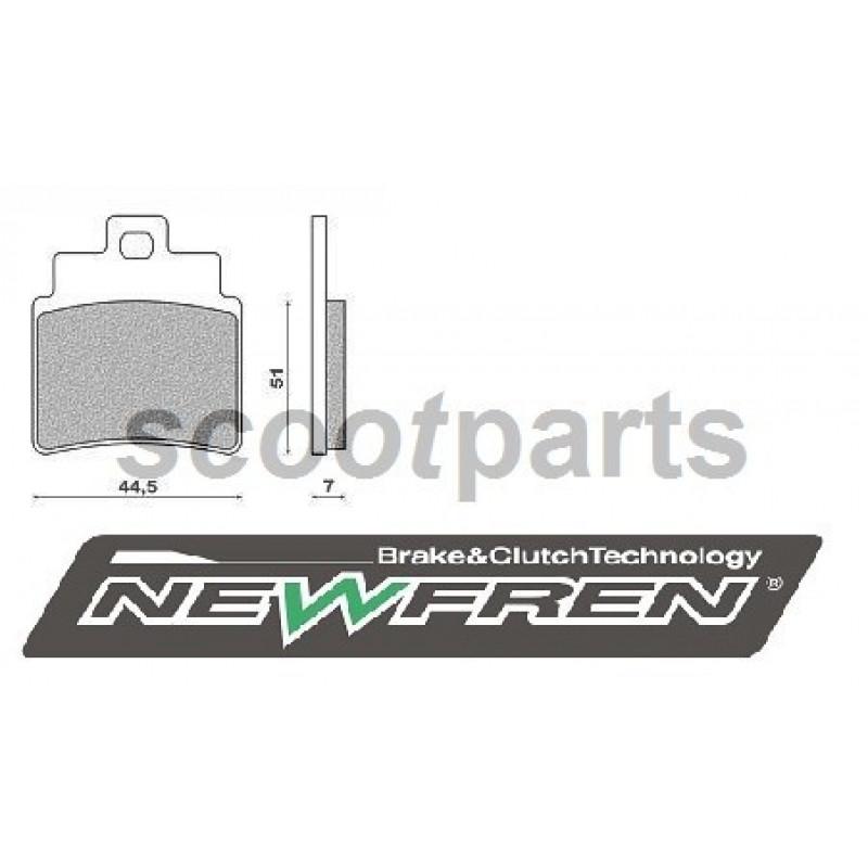 Remblok set Newfren Kymco Grand Dink, Sym Joy Max 250