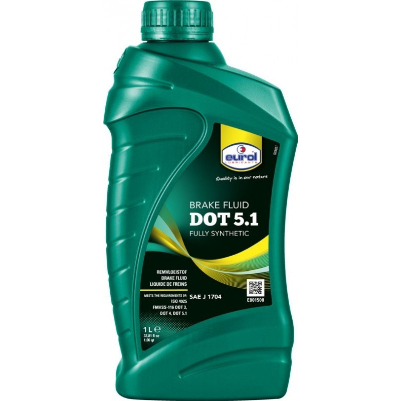 Remvloeistof Eurol Dot 5.1 synthetic 250ml