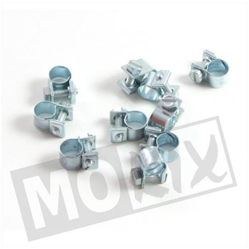 Slangklem oliepomp Tomos Revival, Flexer, Luxe, Quadro, PackR 6-8mm 10st