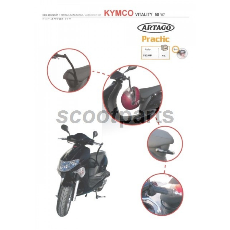 Slot Antirrobos Power 1 Kymco Vitality