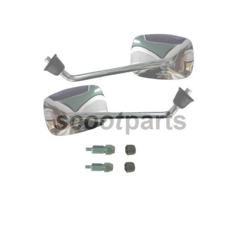 Spiegel Vespa S 50cc 125cc links chroom