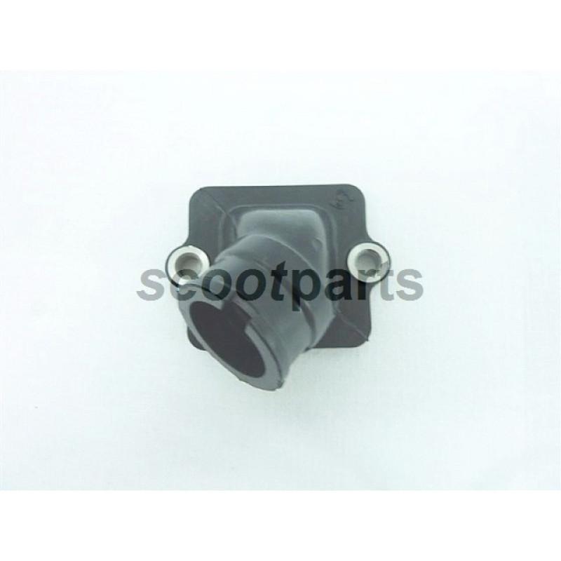 Spruitstuk rubber Piaggio 22mm