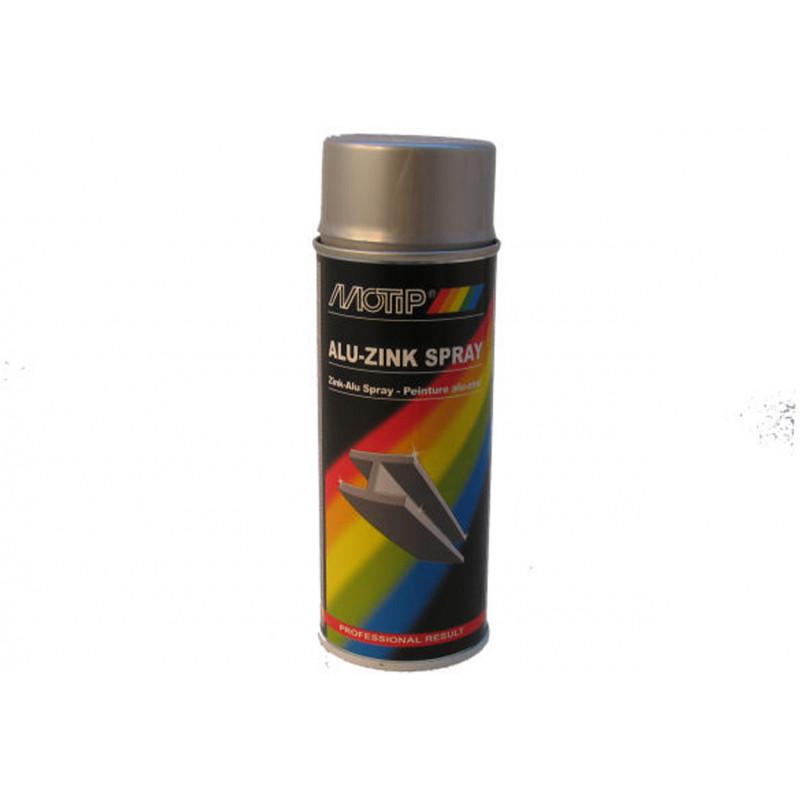 Spuitlak Motip aluminium zinkspray 400ml
