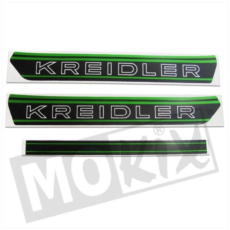 Sticker Kreidler zwart / groen