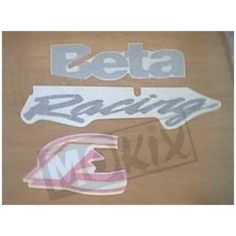 Stickerset Beta Ark Rood