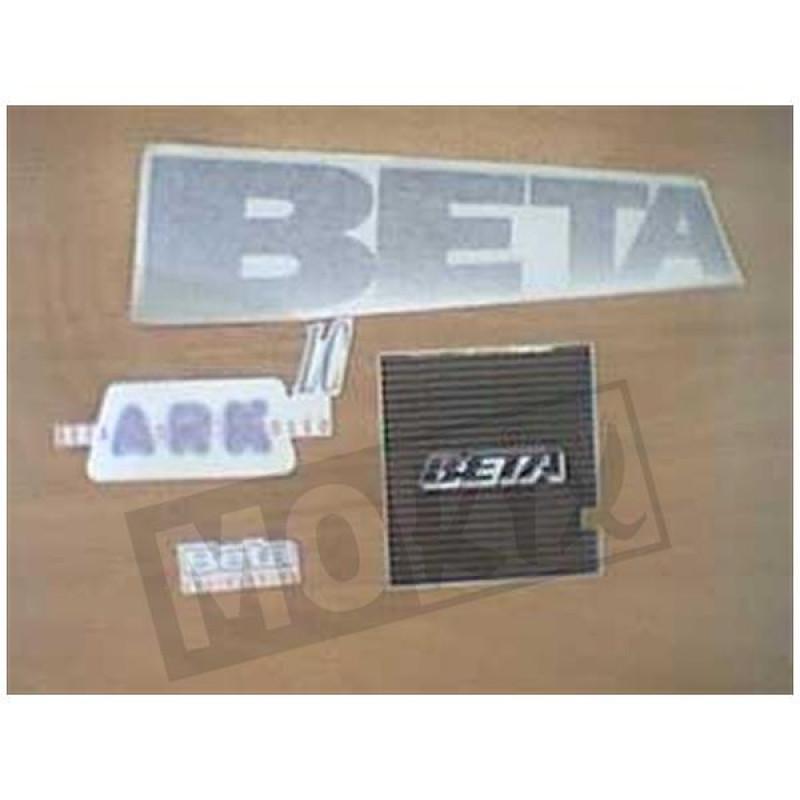 Stickerset Beta Ark zilver
