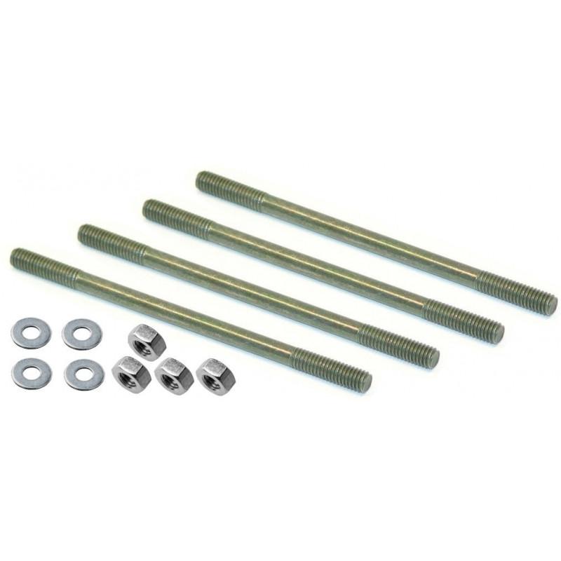Tapeind Bofix M6x145 met moer en ring (4 stuks)