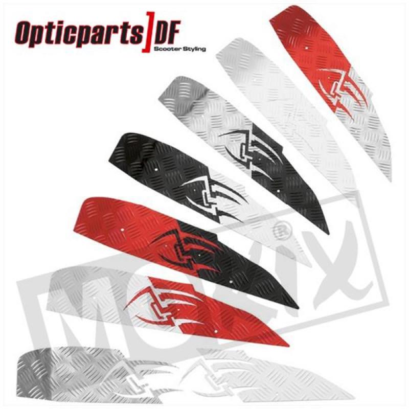 Treeplaatset ODF Yamaha Aerox, MBK Nitro achter rood