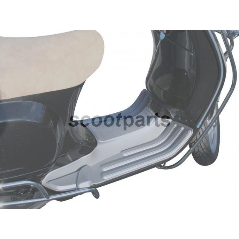 Treeplank rubber Vespa LX grijs