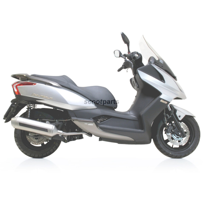 Uitlaat Kymco Downtown 125cc Leovince 4road