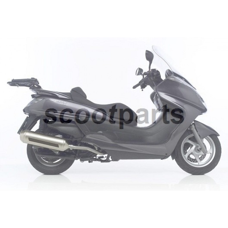 Uitlaat Yamaha Majesty 400cc Leovince 4road