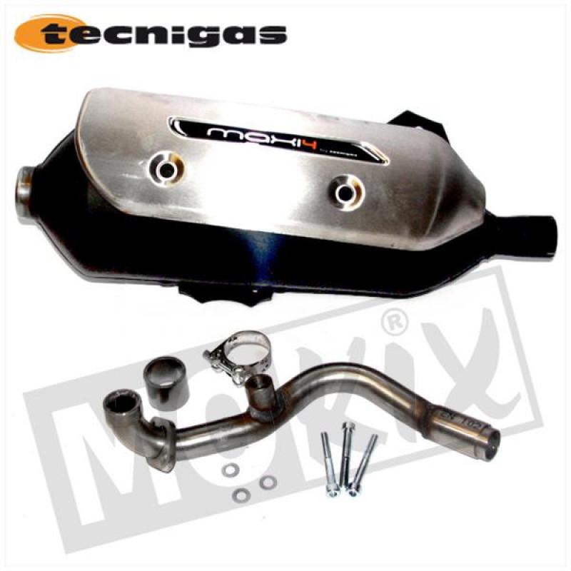 Uitlaat Peugeot Geopolis 125 Tecnigas Maxi 4N E-keur